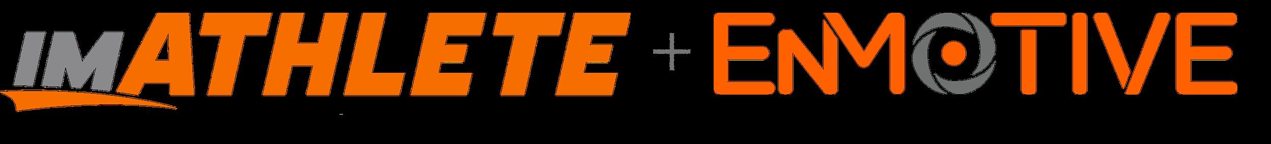 imATHLETE + EnMotive logo Transparent